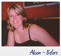 Fat Burning Diet - Alison Before