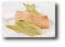 Fennel and Salmon Parcels Recipe Image