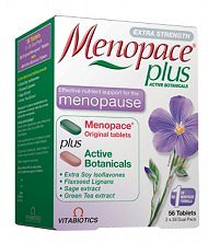 Menopace Plus for menopause symptoms
